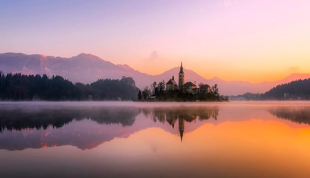panorama jezera