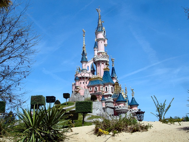 Disney zámek
