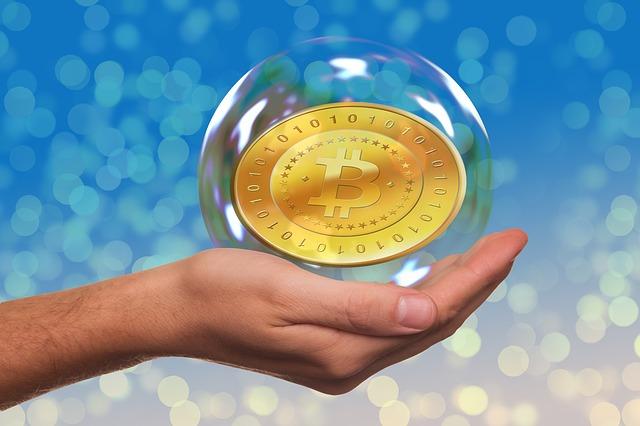 bitcoin v bublině