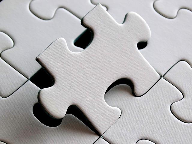 prázdné puzzle