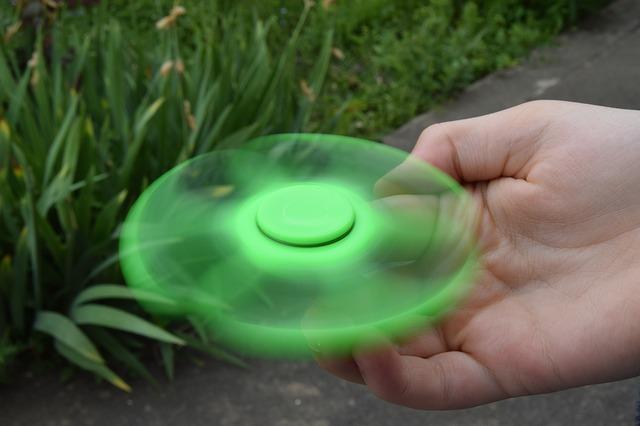 roztočený spinner