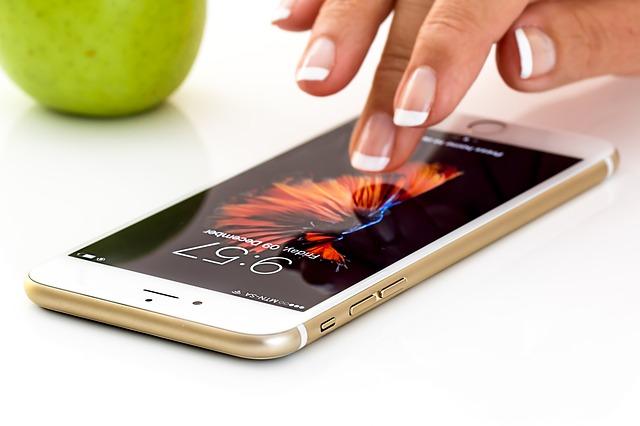smartphone a jablko