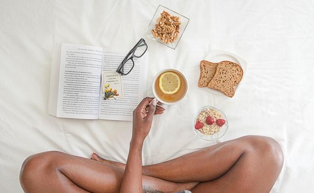 snídaně na posteli