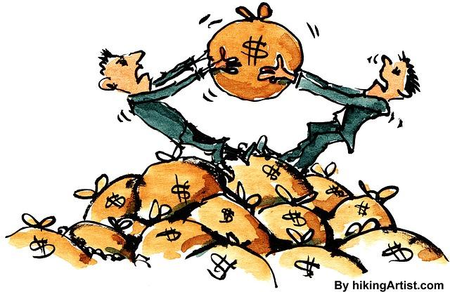 boj o peníze